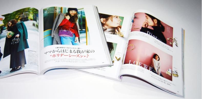 編集内容を理解し、読む方がわかりやすいように意識しレイアウトした女性ファッション誌・ブランドブックデザイン事例その1